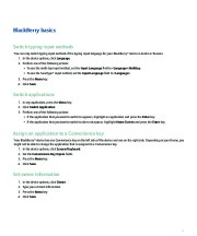 BlackBerry Curve 8330 Smartphone User Guide page 13